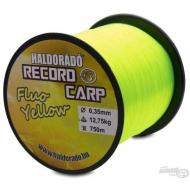 HALDORÁDÓ Record Carp Fluo Yellow 0,35 mm / 750 m / 12,75 kg