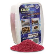 HALDORÁDÓ Fluo micro method feed pellet - Vörös gyümölcs 400gr