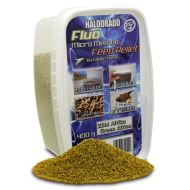 HALDORÁDÓ Fluo micro method feed pellet - Zöld Afrika 400gr