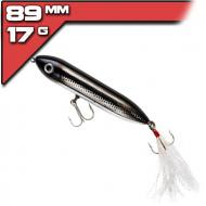 Heddon Super Spook Jr - 8,9cm/17g -  Black Shiner