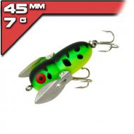 Heddon Tiny Crazy Crawler Fluorescent Green Crawdad 4cm/7g