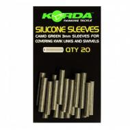KORDA Silicone Sleeves szilikoncső - weedy green