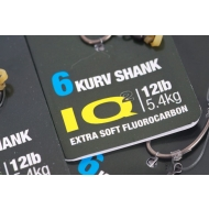 KORDA IQ D-Rig Kurv Shank 4-es horoggal (15lb)