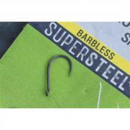 KORUM Supersteel Allrounder szakáll nélküli horog 10-es