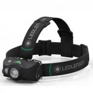 Led Lenser MH8 outdoor tölthető LED fejlámpa - zöld