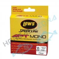 Lews APT Speed Line mono 0,25lb/0,56mm/452,7m (LAPTM25CL)