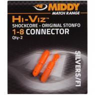 MIDDY Hi-Viz külső PTFE connector 1-8 narancs