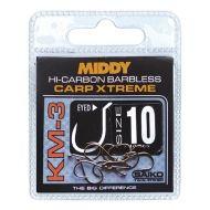 MIDDY KM3 Carp Xtreme szakál nélküli horog - 12-es