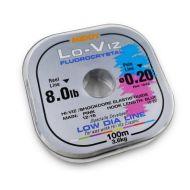 MIDDY Lo-Viz Fluorocrystal damil 0,24mm 100m