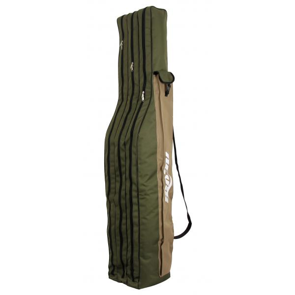 NEVIS Bottartó táska zöld 1,65m 3 rekeszes