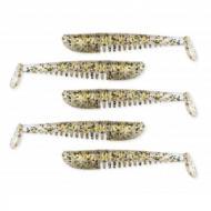 NEVIS Impulse Shad 7,5cm csillámbarna gumihal 5 db / cs