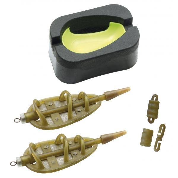 NEVIS Method Carp feeder kosár szett - 50g