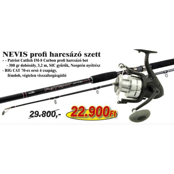 NEVIS Nevis Profi harcsázó szett KB-428