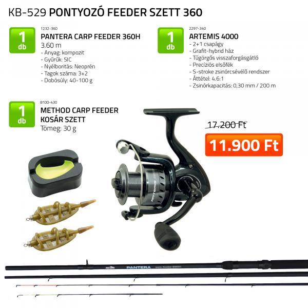 NEVIS Pontyozó feeder szett 360 (KB-529)