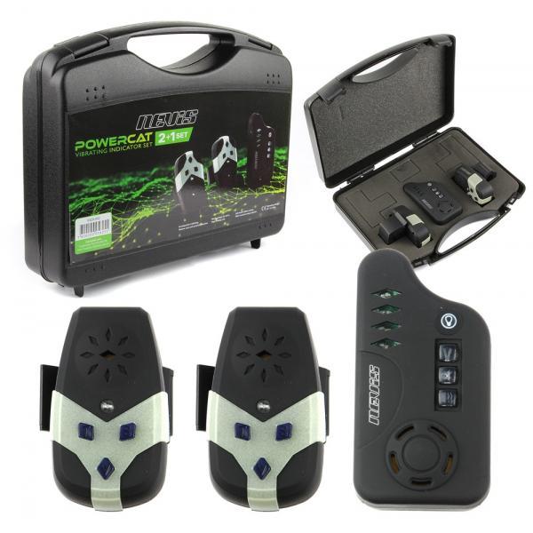 NEVIS Powercat harcsázó  kapásjelző készlet 2+1