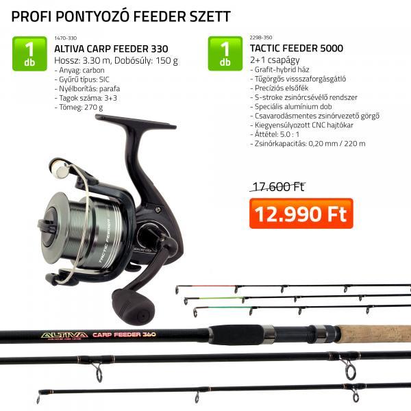 NEVIS Profi pontyozó feeder szett KB-490