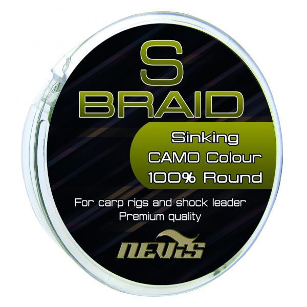 NEVIS S Braid 0,14mm 15m - fonott előke zsinór