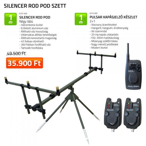NEVIS Silencer Rod Pod szett KB-479