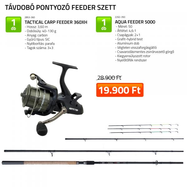 NEVIS Tactical Carp Feeder szett 3. KB-481