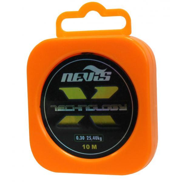 NEVIS Technology dobozos fonott előkezsinór - 0,10mm/10m