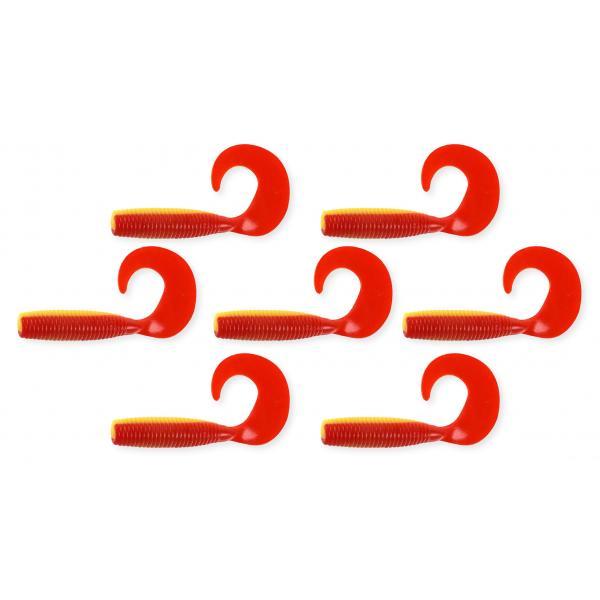 NEVIS Twister 6cm 7db/cs  sárga-piros