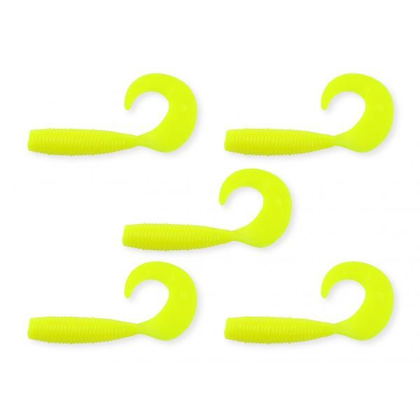 NEVIS Twister 7,5cm  5db/cs citromsárga