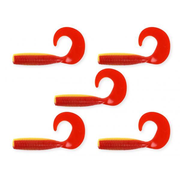 NEVIS Twister 7,5cm 5db/cs sárga-piros