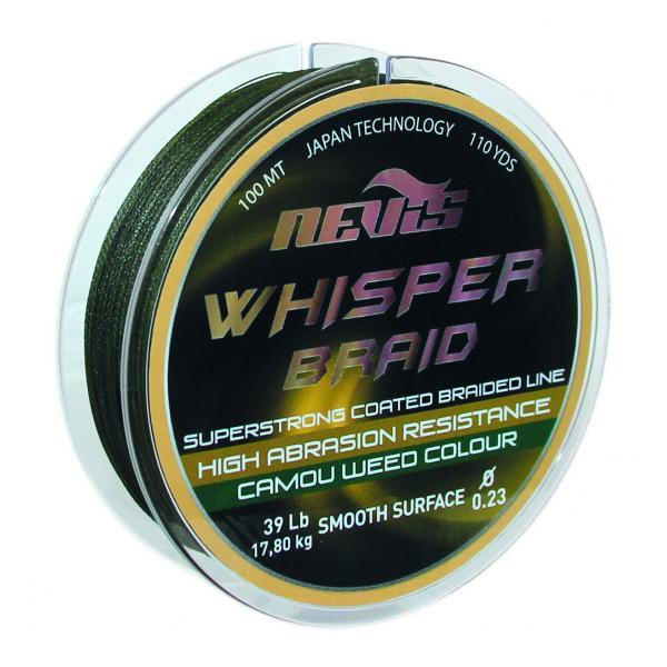 NEVIS Whisper 100m 0,16mm fonott zsinór