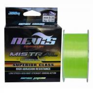 NEVIS Mistral fluo green zsinór 300m 0,22mm