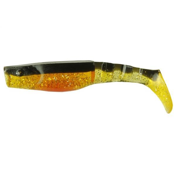 NEVIS Vantage gumihal -  10cm / narancs-fekete