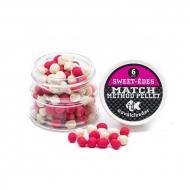 NOVÁKFEEDER Match Method Pellet 6mm Pink-fehér