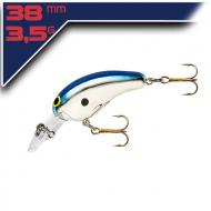 Norman Deep Tiny N – Silver/Blue 3,8cm/3,5g wobbler