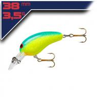 Norman Deep Tiny N-GC – Chartreuse/Blue 3,8cm/3,5g wobbler