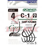 Owner CARP C-1 53261 füles horog - 1/0-ás
