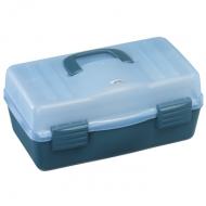 PLASTICA PANARO szerelékes láda 136-os - kék