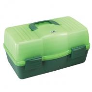 PLASTICA PANARO szerelékes láda 136-os - zöld