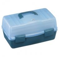 PLASTICA PANARO szerelékes láda 138-as - kék