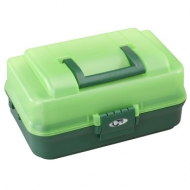 PLASTICA PANARO szerelékes láda 143-as - zöld