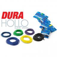 PRESTON Dura Hollo Elastic Size 18 - fekete 2,8mm
