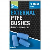 PRESTON External PTFE Bushes - 3,8mm