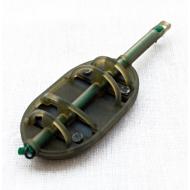 PRESTON Gumizott flat method feeder kosár - L / 60gr