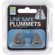PRESTON Line Safe Plummets 45 gramm - fenékmérő ólom