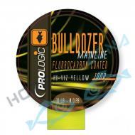 PROLOGIC Bulldozer FC Coated Fluo Yellow 1000m 12lbs 0.31mm nagykiszerelésű pontyozó monofil