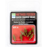 PRESTON Method Feeder Quick Change Bead gyorskapocs