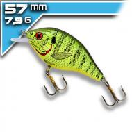 REBEL Bluegill - Fire Tiger - 6,3cm/7g felúszó wobbler