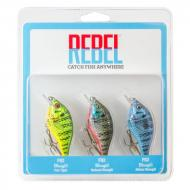 REBEL Bluegill - Pack - 6,3cm/7g felúszó wobbler