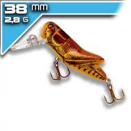 REBEL Crickhopper - Brown Grasshopper 3,8cm/2,8g