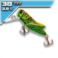 REBEL Crickhopper - Green Grasshopper 3,8cm/2,8g