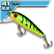 REBEL F49-V Minnow - Fire Tiger 4,13cm/2,2g