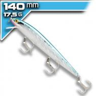 REBEL Minnow - Silver Blue - 14cm/17,5g